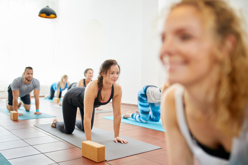 Yoga Klasse | Yogalehrerin